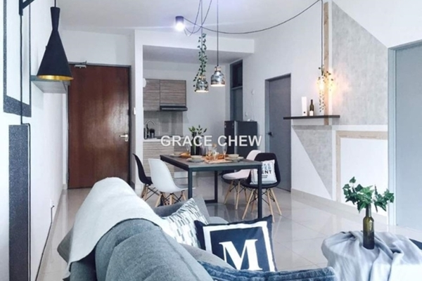 For Rent Condominium at Parc Regency, Johor Bahru Freehold Semi Furnished 2R/2B 1.58k
