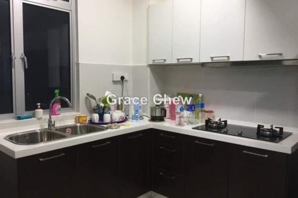 For Sale Serviced Residence at D'Ambience, Johor Bahru Freehold Semi Furnished 3R/2B 468k