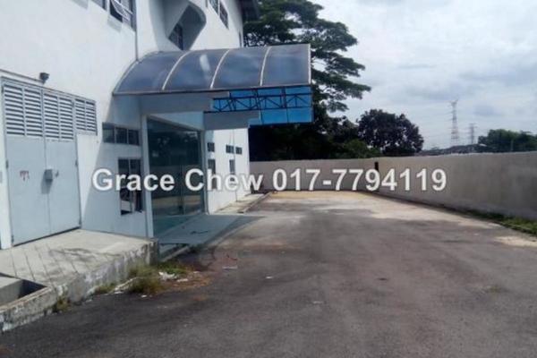 For Sale Factory at Kawasan Perindustrian Pandan, Johor Bahru  Semi Furnished 0R/0B 10.4m