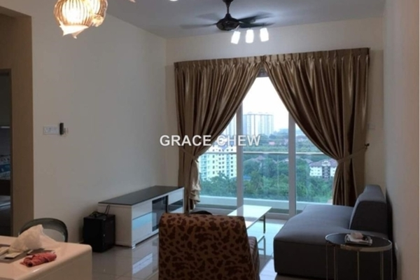 For Sale Apartment at Seasons Luxury Apartments, Johor Bahru Leasehold Semi Furnished 1R/1B 360k