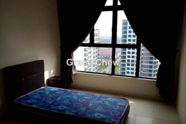 For Rent Serviced Residence at Taman Mutiara Mas, Skudai Freehold Semi Furnished 3R/2B 1.8k