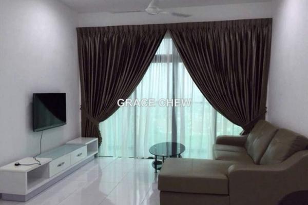 For Rent Serviced Residence at Sky Loft, Bukit Indah Freehold Semi Furnished 1R/1B 1.88k