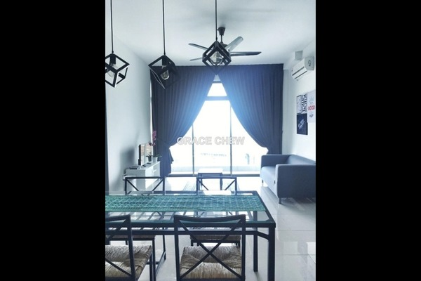 For Rent Condominium at Parc Regency, Johor Bahru Freehold Semi Furnished 1R/2B 1.38k