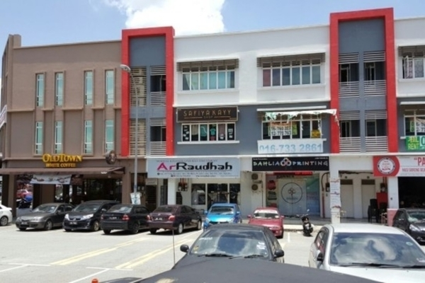 For Rent Shop at Taman Bukit Dahlia, Pasir Gudang  Unfurnished 0R/0B 1.8k