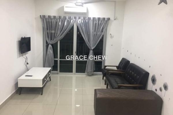 For Rent Condominium at Nusa Idaman, Iskandar Puteri (Nusajaya) Freehold Fully Furnished 2R/2B 1.4k