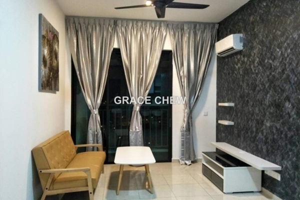 For Rent Serviced Residence at Sky Breeze, Bukit Indah Freehold Fully Furnished 2R/2B 1.98k