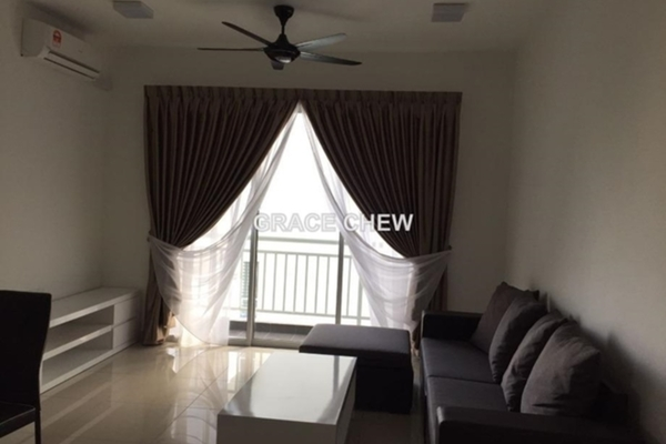 For Rent Serviced Residence at The Aliff Residences, Johor Bahru Leasehold Fully Furnished 3R/2B 1.78k