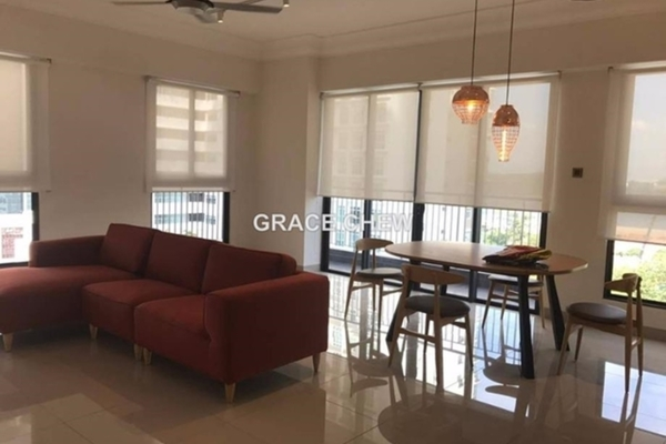 For Rent Serviced Residence at V @ SummerPlace, Johor Bahru Leasehold Semi Furnished 3R/3B 3k