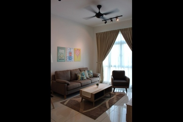 For Rent Condominium at Bayu Puteri 2, Johor Bahru Leasehold Fully Furnished 2R/2B 2.2k