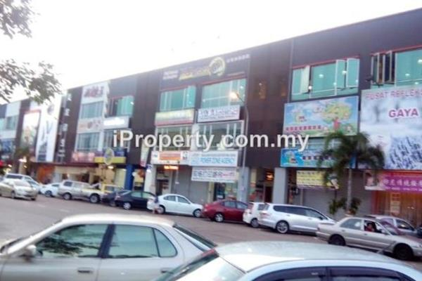For Rent Shop at Taman Gaya, Ulu Tiram  Unfurnished 0R/0B 3.8k
