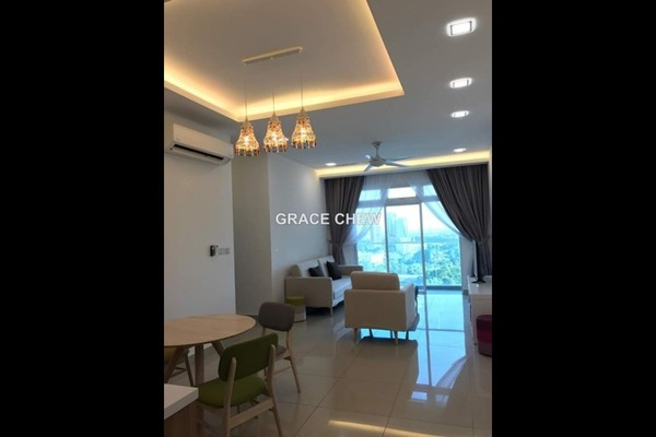 For Rent Serviced Residence at Twin Galaxy, Johor Bahru Freehold Fully Furnished 2R/2B 2.58k