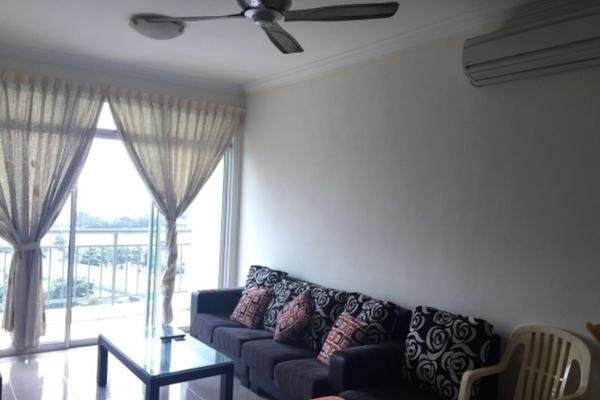 For Rent Apartment at Sri Samudera Apartment, Johor Bahru  Semi Furnished 3R/2B 2.6k