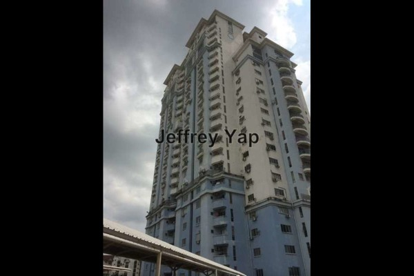 For Sale Condominium at Ridzuan Condominium, Bandar Sunway Leasehold Semi Furnished 3R/2B 350k