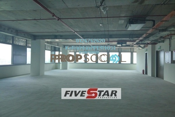 For Rent Office at The Pillars @ KL Eco City, Mid Valley City Freehold Unfurnished 1R/1B 48.4k