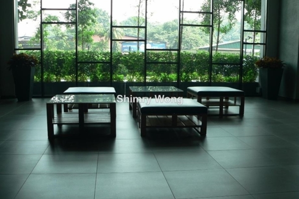 For Sale Serviced Residence at The Leafz, Sungai Besi Freehold Semi Furnished 3R/2B 820k