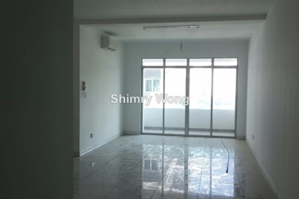 For Sale Serviced Residence at Swiss Garden Residences, Pudu Freehold Semi Furnished 1R/1B 650k