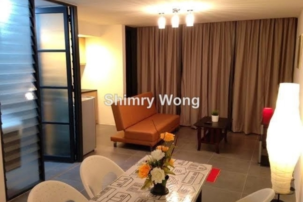 For Rent Duplex at Empire Damansara, Damansara Perdana Leasehold Semi Furnished 1R/1B 1.6k