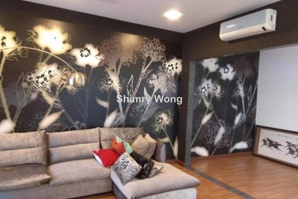 For Rent Terrace at Garden Residence, Cyberjaya Freehold Semi Furnished 5R/6B 4k