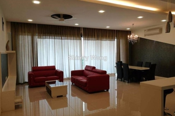For Rent Condominium at The Park Residences, Bangsar South Leasehold Fully Furnished 3R/3B 6.8k