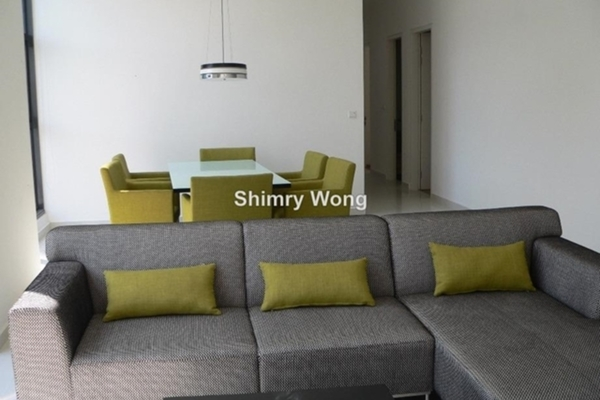 For Rent Condominium at Mirage Residence, KLCC Freehold Semi Furnished 3R/3B 8k