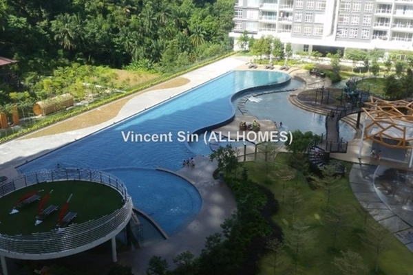 For Rent Condominium at Damansara Foresta, Bandar Sri Damansara Freehold Semi Furnished 3R/3B 3k