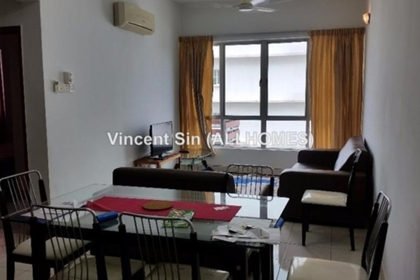 For Rent Serviced Residence at e-Tiara, Subang Jaya Freehold Semi Furnished 2R/2B 1.8k