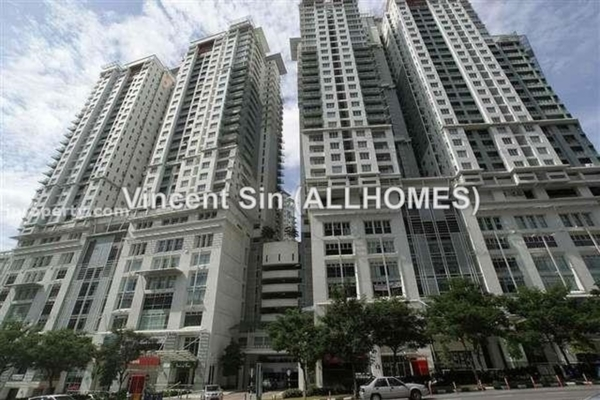 For Rent Condominium at Metropolitan Square, Damansara Perdana Leasehold Semi Furnished 2R/2B 1.7k