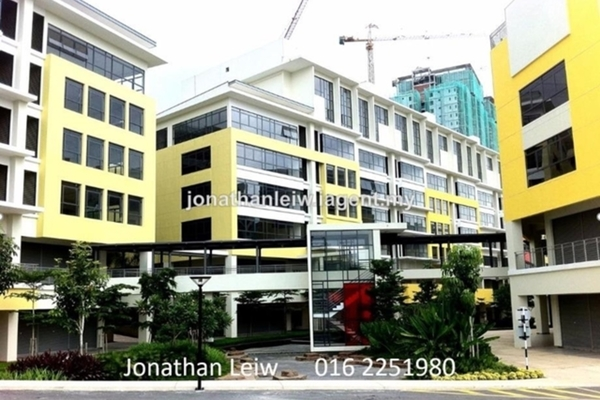 For Rent Office at Setia Walk, Pusat Bandar Puchong Freehold Unfurnished 0R/0B 2.4k