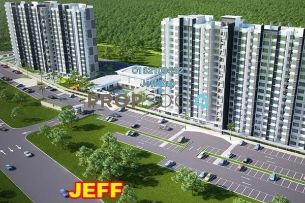 For Sale Apartment at Bayu Angkasa, Iskandar Puteri (Nusajaya) Freehold Unfurnished 3R/2B 346k