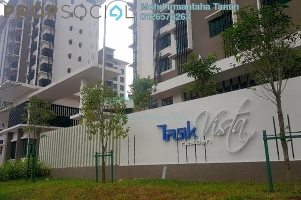 For Sale Condominium at Lake Vista Residence, Bandar Tun Hussein Onn Freehold Unfurnished 3R/3B 630k