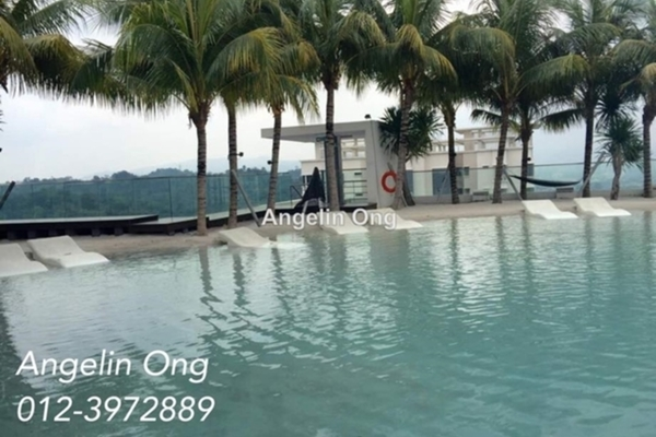 For Sale Condominium at VERVE Suites, Mont Kiara Freehold Semi Furnished 2R/1B 1.18m