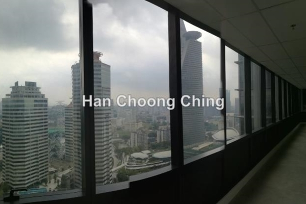 For Rent Office at KL Gateway, Bangsar South Leasehold Semi Furnished 0R/0B 6k
