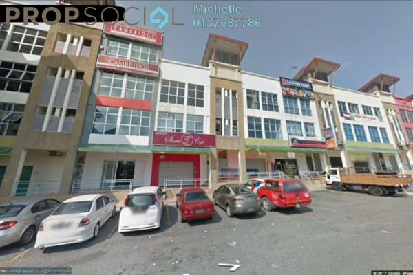 For Sale Shop at Suasana, Bandar Tun Hussein Onn Freehold Fully Furnished 3R/3B 3.2m