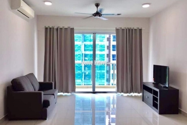 For Rent SoHo/Studio at Medalla Serviced Suites, Ara Damansara Freehold Semi Furnished 0R/1B 1.7k