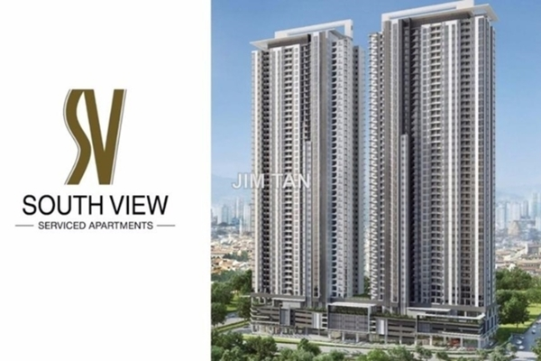For Sale Serviced Residence at South View, Bangsar South Freehold Semi Furnished 1R/1B 590k