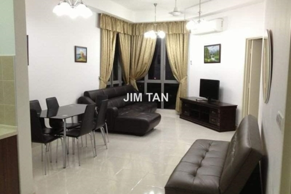 For Rent Serviced Residence at Tropicana City Tropics, Petaling Jaya Freehold Semi Furnished 2R/2B 2.5k