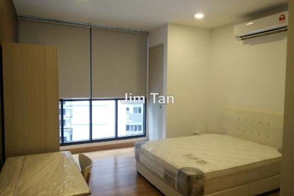 For Rent Serviced Residence at KL Gateway, Bangsar South Leasehold Semi Furnished 1R/1B 1.9k