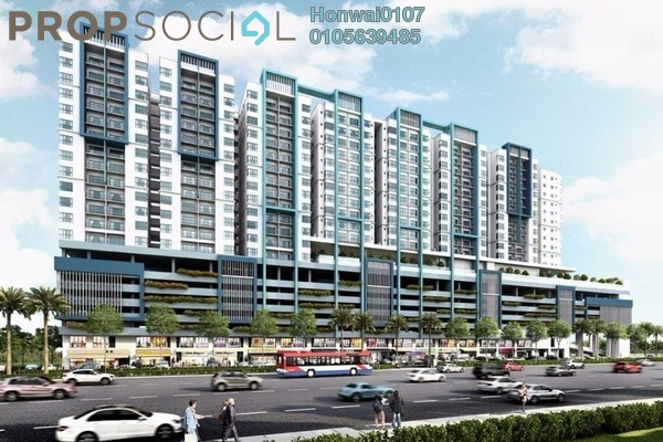 For Rent Condominium at Metia Residence, Shah Alam Freehold Fully Furnished 2R/2B 1.5k