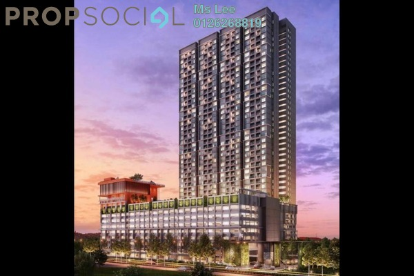 For Sale Condominium at The Holmes 2, Bandar Tun Razak Freehold Unfurnished 3R/2B 366k