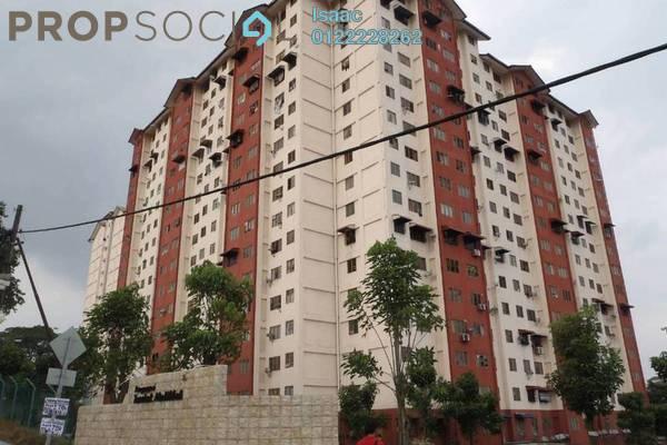 For Sale Apartment at Teratak Muhibbah Apartment, Taman Desa Freehold Semi Furnished 3R/2B 175k