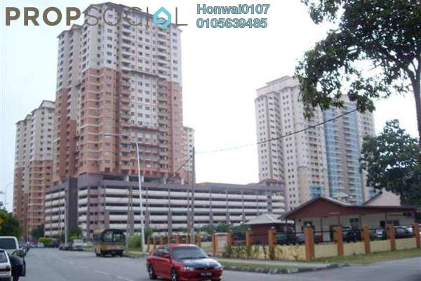 For Rent Condominium at Idaman Sutera, Setapak Freehold Semi Furnished 3R/2B 1.1k
