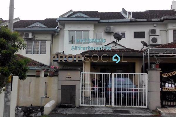 For Sale Terrace at Taman Puncak Jalil, Bandar Putra Permai Freehold Semi Furnished 4R/3B 550k