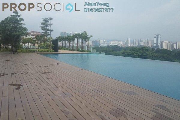 For Rent Condominium at Mercury Serviced Apartment @ Sentul Village, Sentul Freehold Fully Furnished 3R/2B 1.85k