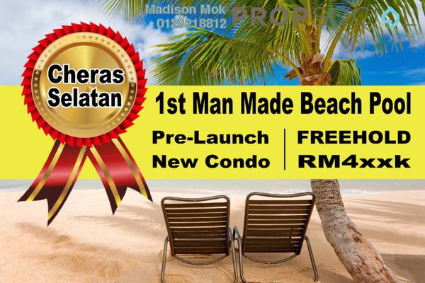 For Sale Condominium at Akasa, Balakong Freehold Semi Furnished 4R/3B 620k
