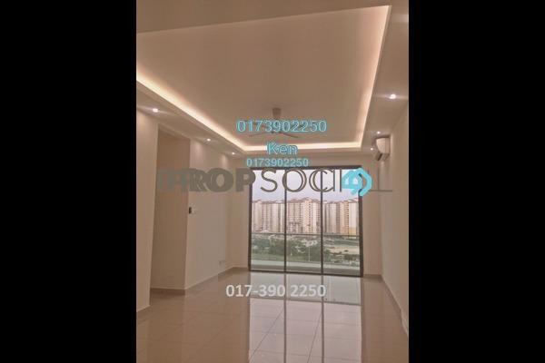 For Rent Condominium at USJ One Park, UEP Subang Jaya Freehold Semi Furnished 4R/3B 1.6k