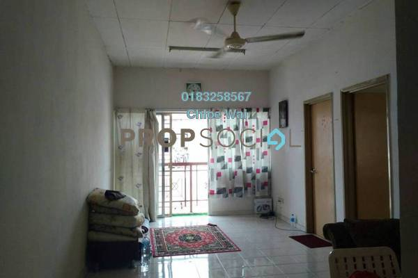 For Sale Apartment at Taman Seri Taming, Cheras Freehold Unfurnished 3R/2B 200k