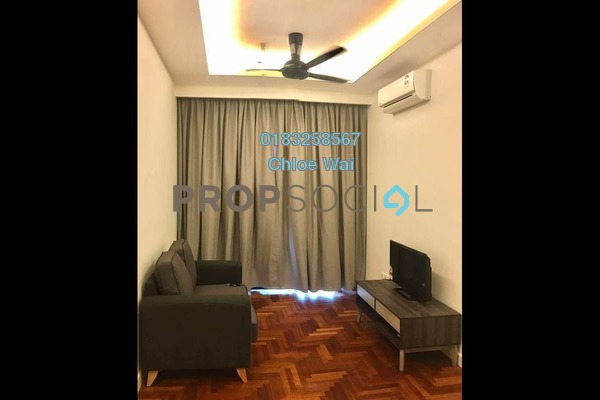 For Rent Condominium at Residency V, Old Klang Road Freehold Fully Furnished 2R/1B 2.2k