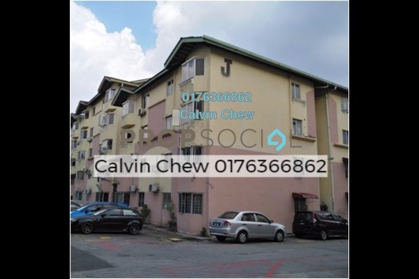 For Sale Apartment at Permai Apartment, Damansara Damai Freehold Unfurnished 3R/2B 135k