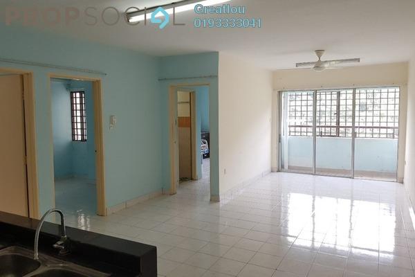 For Sale Apartment at Flora Damansara, Damansara Perdana Freehold Semi Furnished 3R/2B 220k