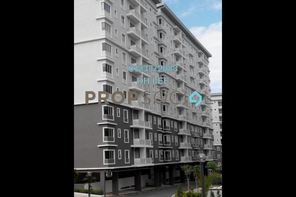 For Rent Apartment at Pelangi Heights, Klang Freehold Semi Furnished 3R/2B 1.1k